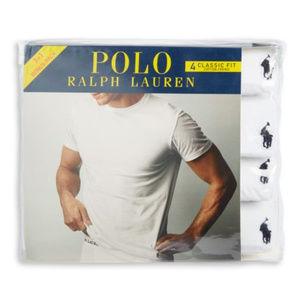 Polo Ralph Lauren Classic Fit 4 Pack Crew Neck - L